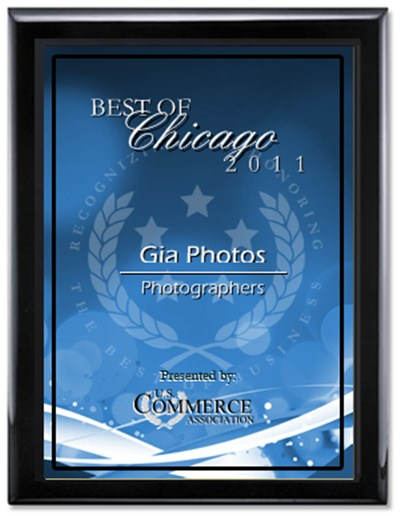 Gia Photos Receives 2011 Best of Chicago Award